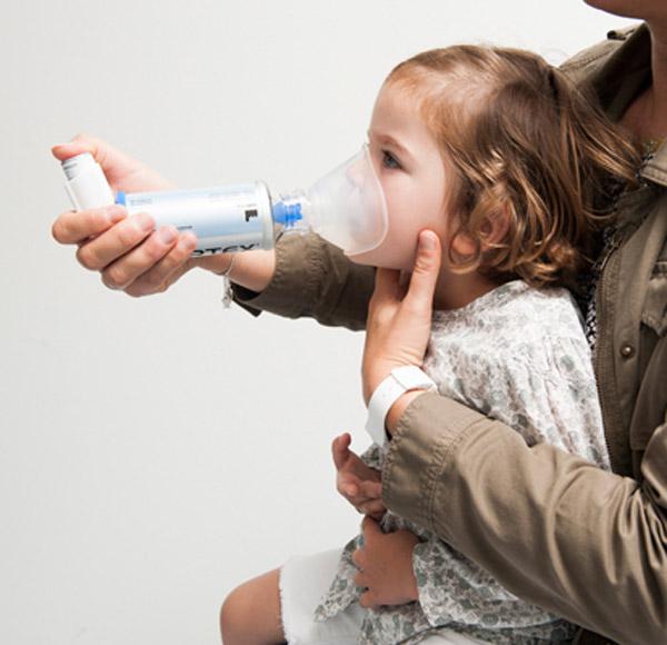Mon enfant doit prendre un médicament par Inhalation - 1