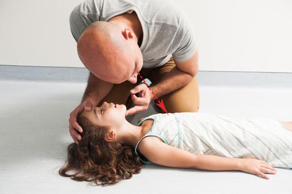 comment placer un enfant en Position latérale de sécurité - 1