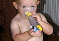 bronchite, bronchospasme, respiration sifflante, inhaler, infection virale, bronchodilatateur